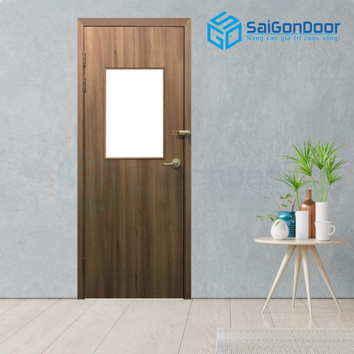 Cửa gỗ cao cấp SGD P1G11