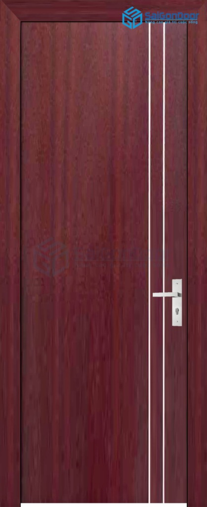 Cửa gỗ phòng ngủ SGD P1R2 1