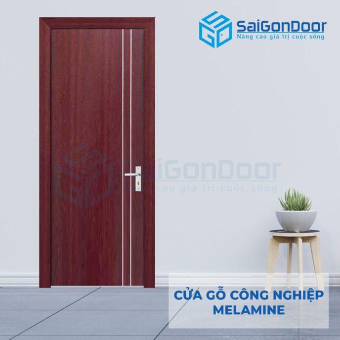 Cửa Gỗ Công Nghiệp MDF Melamine SGD P1R2 1