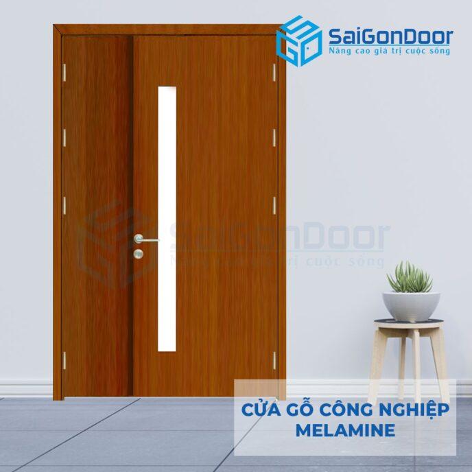 Cửa Gỗ Công Nghiệp MDF Melamine SGD P2G1