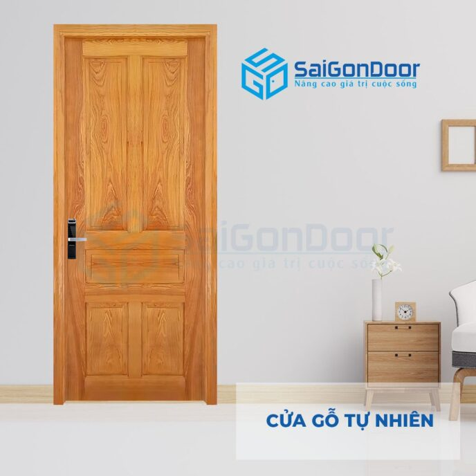 Cửa gỗ tự nhiên 5A Soi