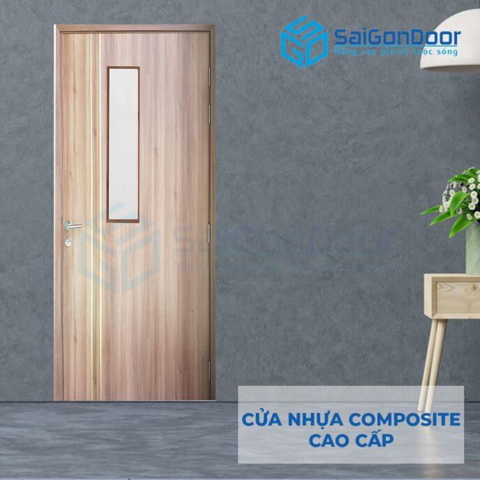 Cửa nhựa Composite P1R2G1