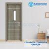 Cửa nhựa Composite SGD-2PN