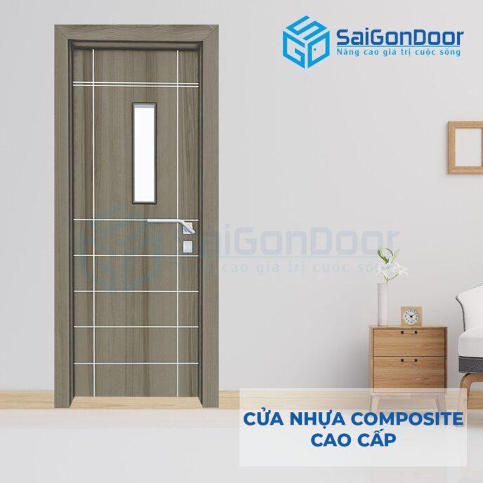 Cửa nhựa Composite SGD-26CSG1