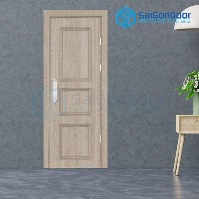 Cửa gỗ nhà tắm SGD-3PNs