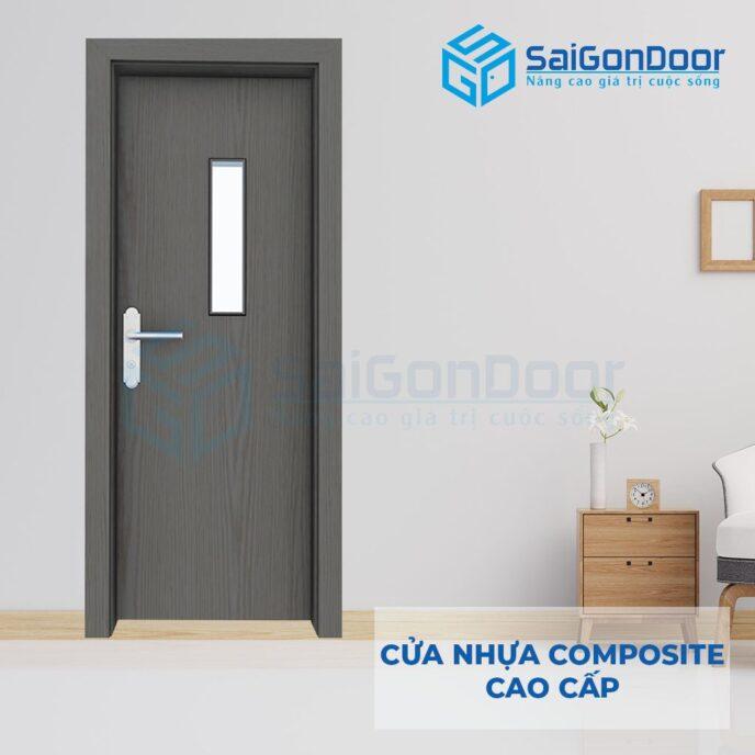 Cửa nhựa Composite SGD-P1G1