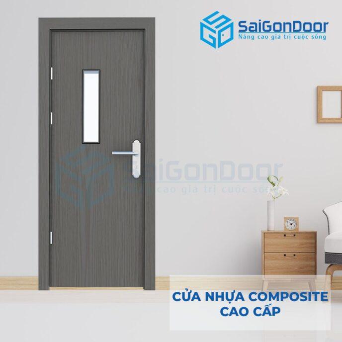 Cửa nhựa Composite SGD-P1G1s