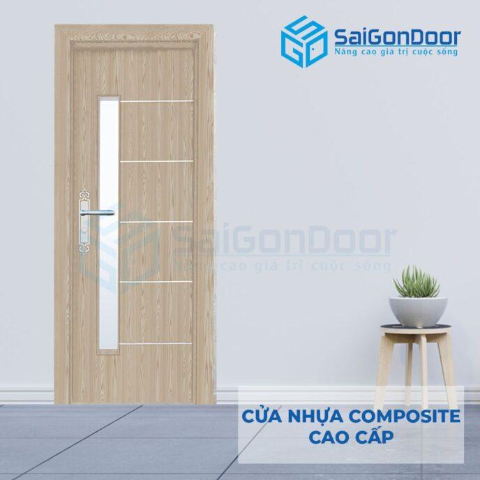 Cửa nhựa Composite SGD-P5CNG1
