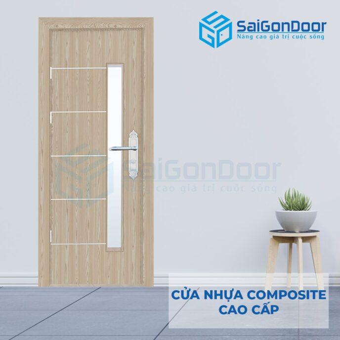 Cửa nhựa Composite SGD-P5CNG1s