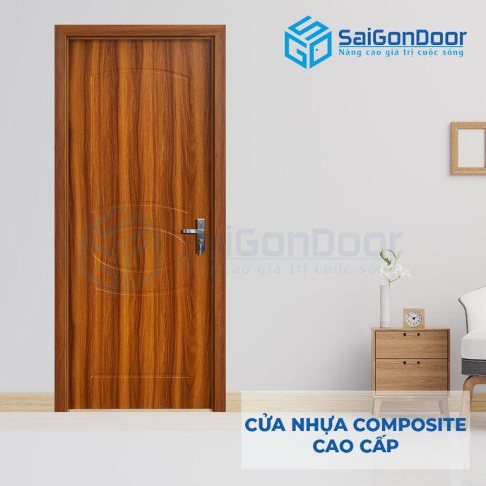 Cửa nhựa Composite SGD102-M01