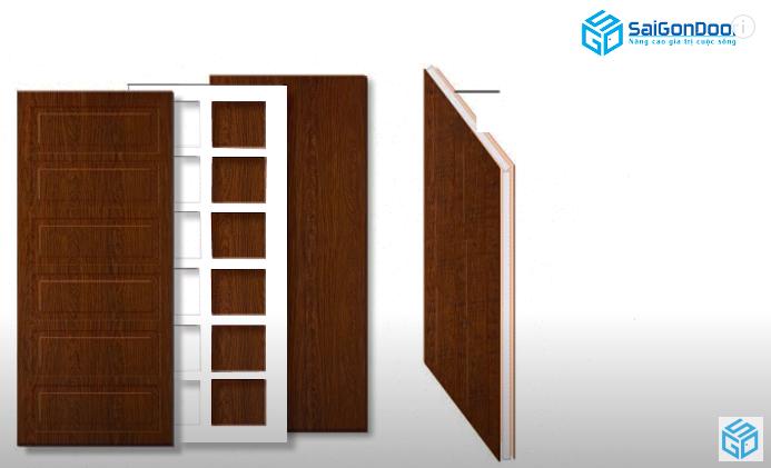 cửa gỗ công nghiệp là gì?